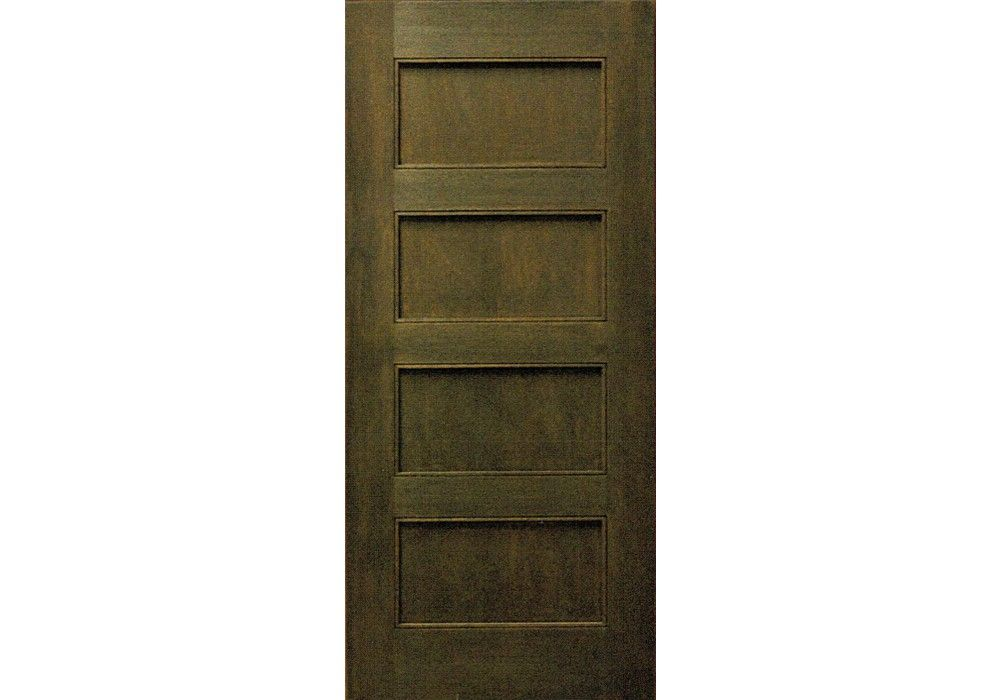 Lincoln 80 Mahogany 4 Panel Shaker Interior Door 1 3 8 Shaker Interior Doors Doors Interior Paneling