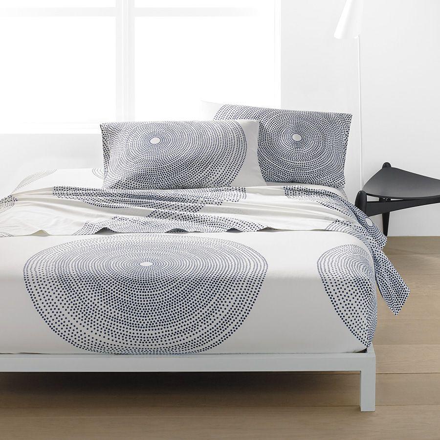 Marimekko Fokus Sheet Set From Beddingstyle Com King Sheet Sets Duvet Sets Marimekko Bedding