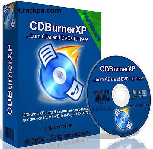 CDBurnerXP 4 5 8 Crack is an application that is free burn CDs and