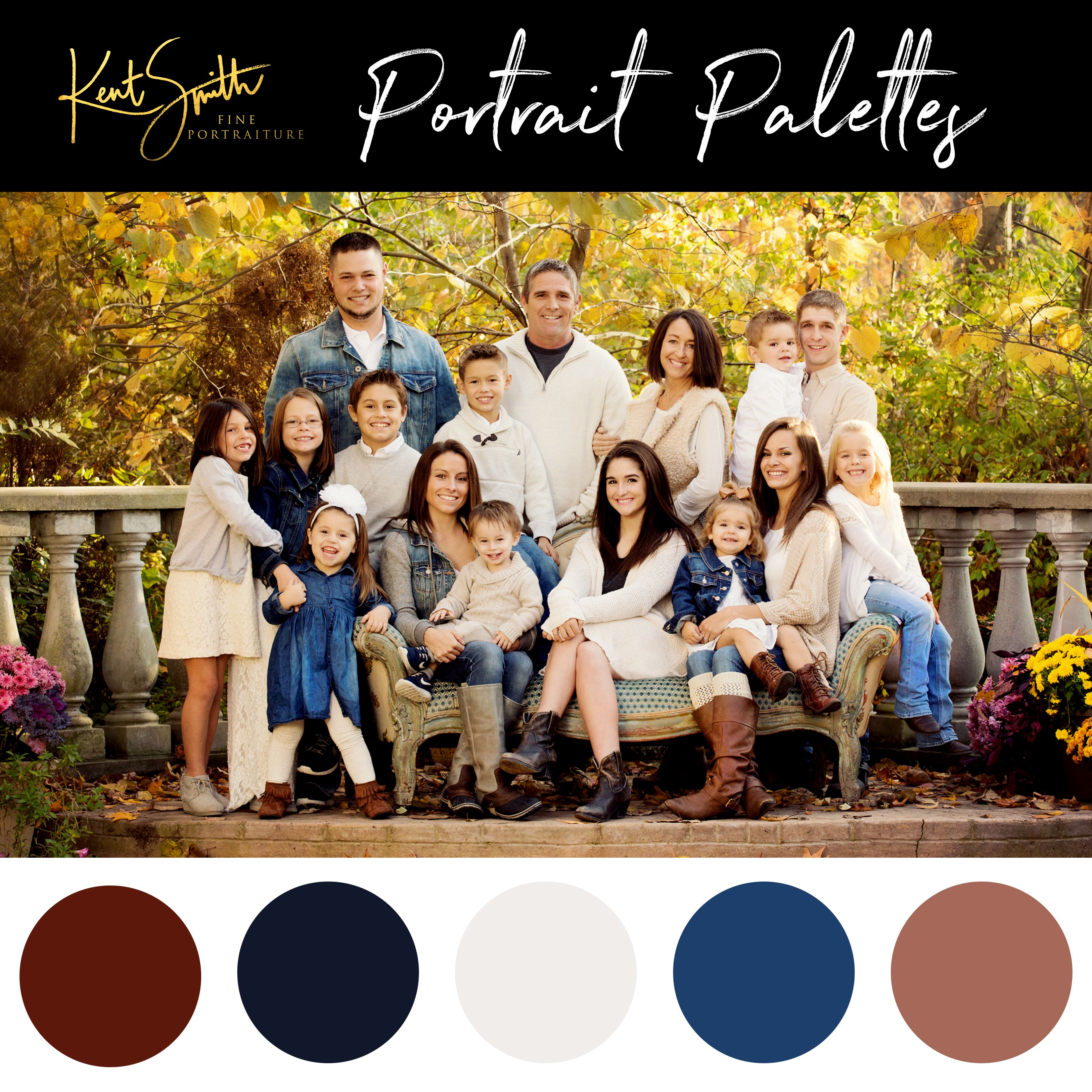 Family Picture Color Schemes Spring