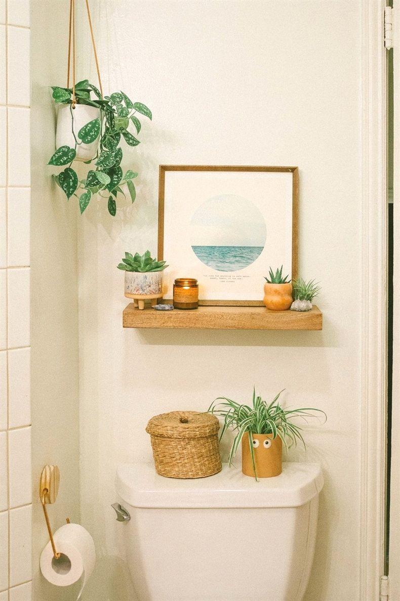 Boho Bathroom 20 Modernbathroomdesign Rental Bathroom Boho Bathroom Bathroom Decor Apartment