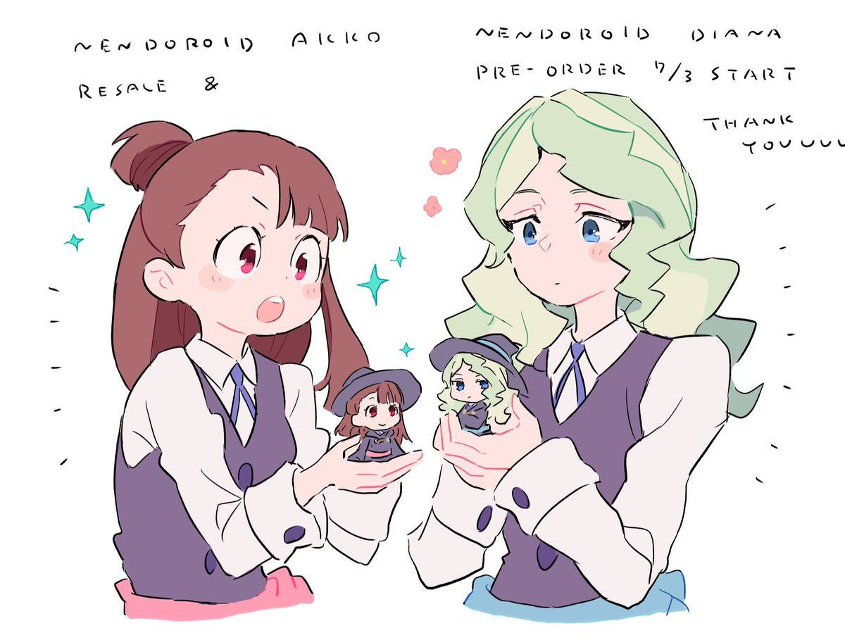 Pin by Witty Aloha on Moe desu Little witch academy