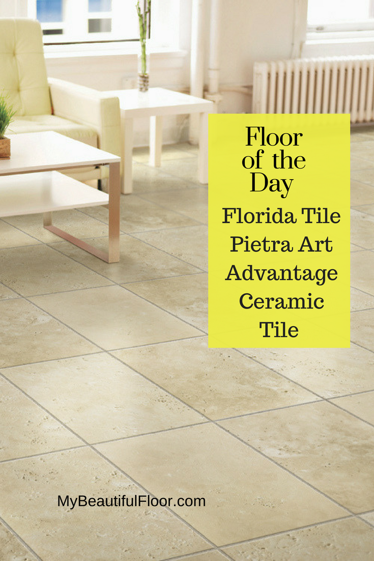 Floor Of The Day Florida Tile Pietra Art Advantage Ceramic Tile