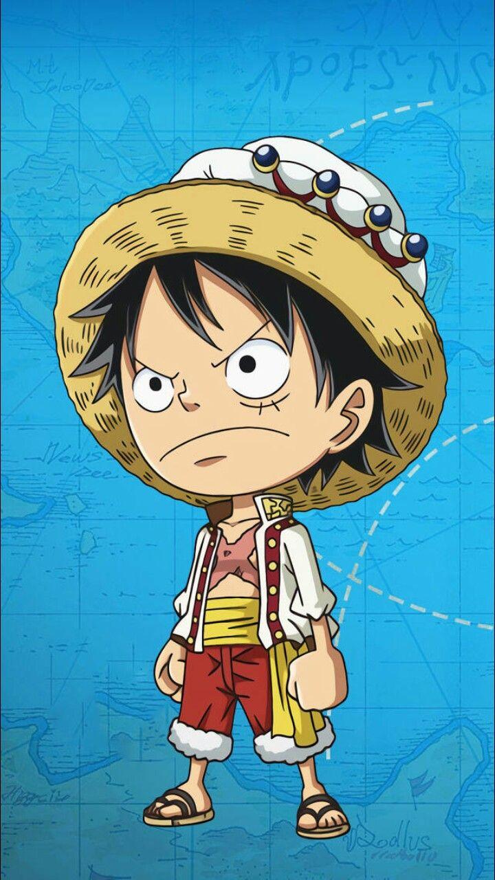 Pin Oleh Filippo Oduro Di Luffy One Piece Ilustrasi Karakter Animasi Chibi