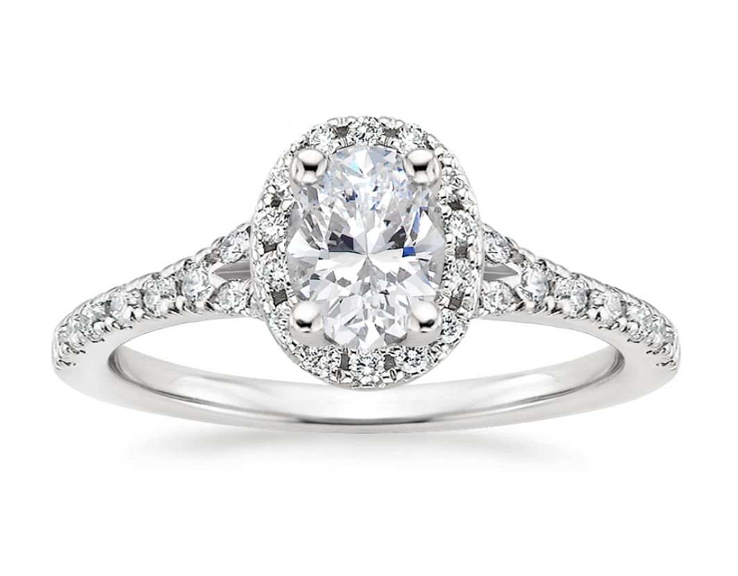 JOY DIAMOND RING (With images) White gold diamond rings