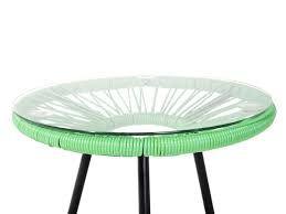 Tavolino Terrazzo ~ Tavolo da giardino in legno pinbianco terrazzo