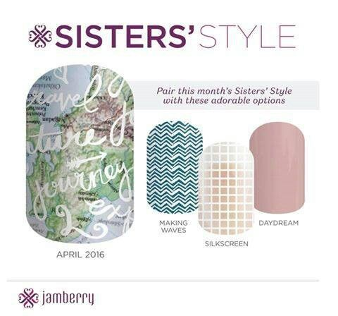 This months Sister Style wrap is so pretty it would make a lovely gift for Mothers Day teamed with a tube of Nourish Hand Cream . Contact me now to place your order.