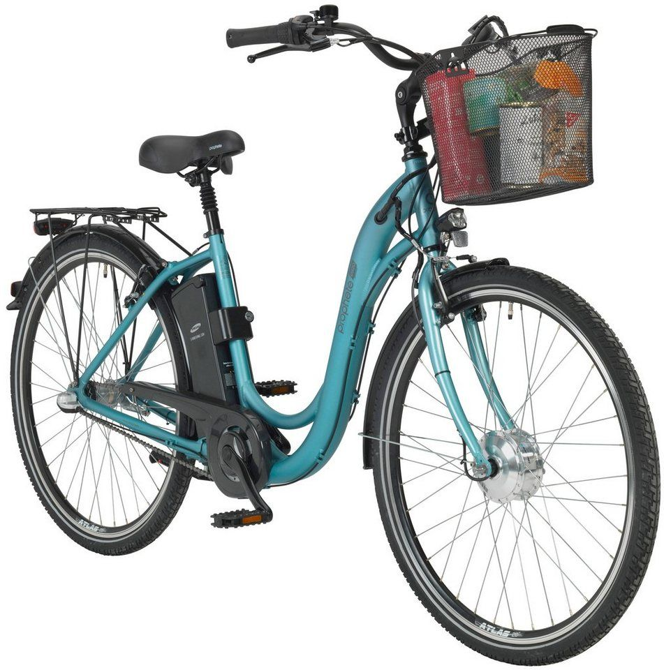 Prophete E Bike Akku 8800 Mah 24 V 24 Volt Integratins Rahmen Akku Online Kaufen Otto E Bike City E Bike Faltrad