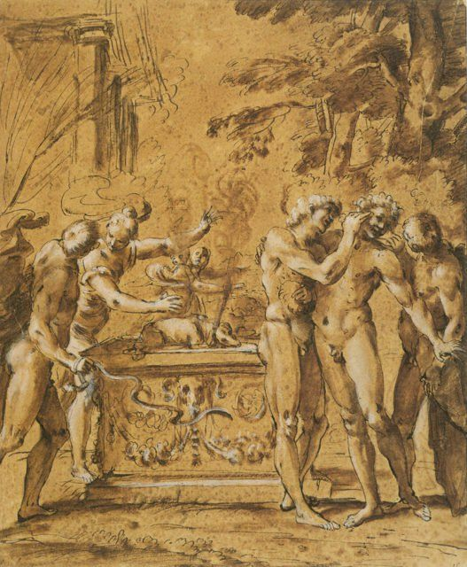 The Roman festival Lupercalia is thought to be the origins ...