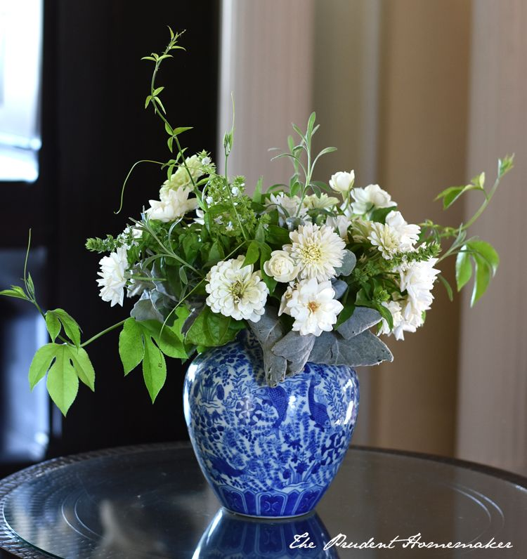 White september arrangement the prudent homemaker flower white september arrangement the prudent homemaker mightylinksfo
