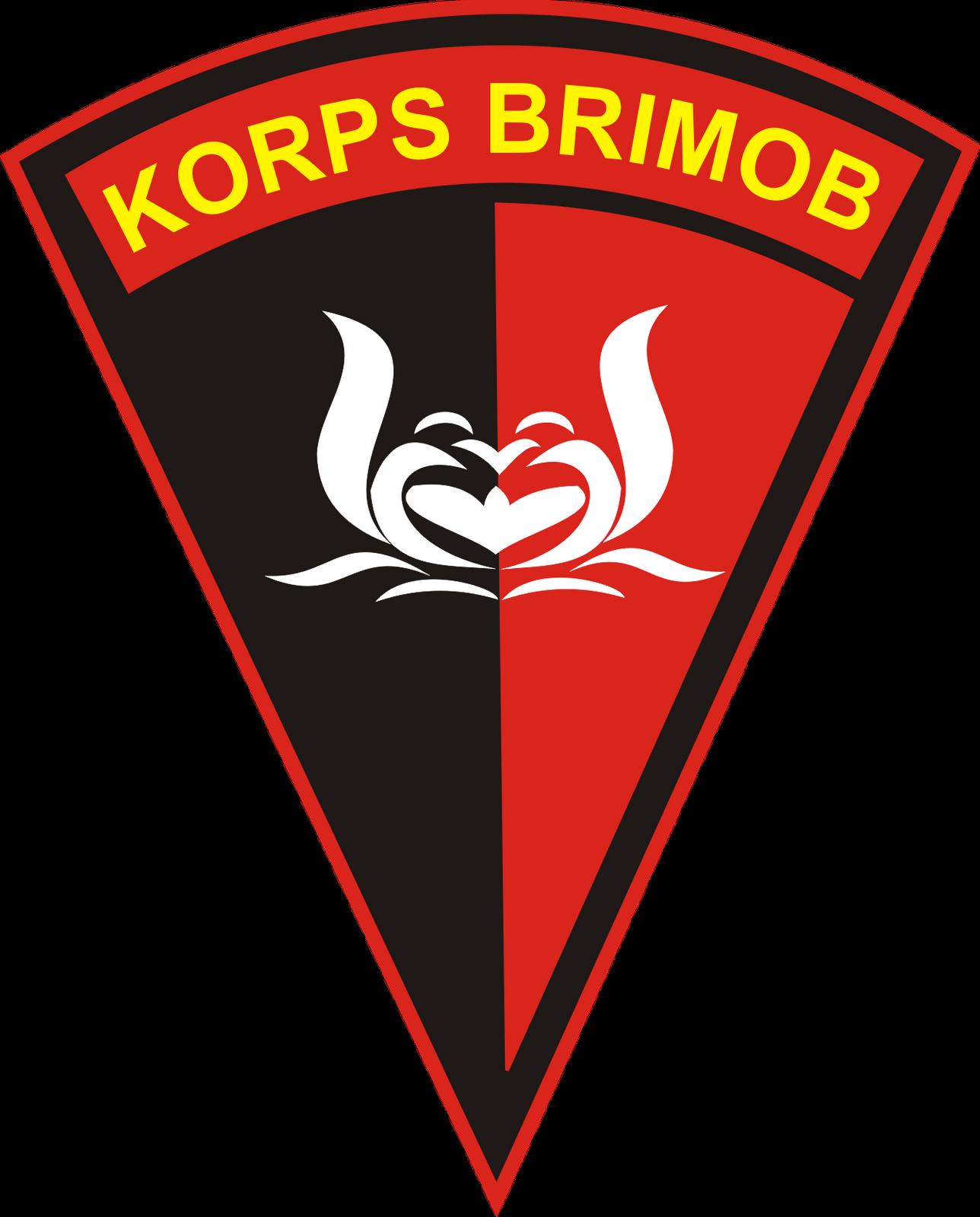 Logo Brimob Vector : brimob, vector, Brimob, Polisi,, Pasukan, Khusus,, Pernikahan, Militer