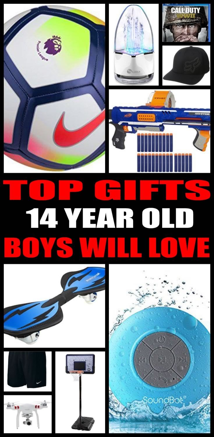 Gift ideas for christmas 14 year old boy