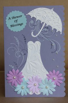 for the bride to be bridal shower handmade greeting card by paperandsunshine on etsy https