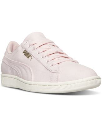 ba4803cdc796c Puma Women s Vikky Canvas Casual Sneakers from Finish Line - Finish Line  Athletic Shoes - Shoes - Macy s
