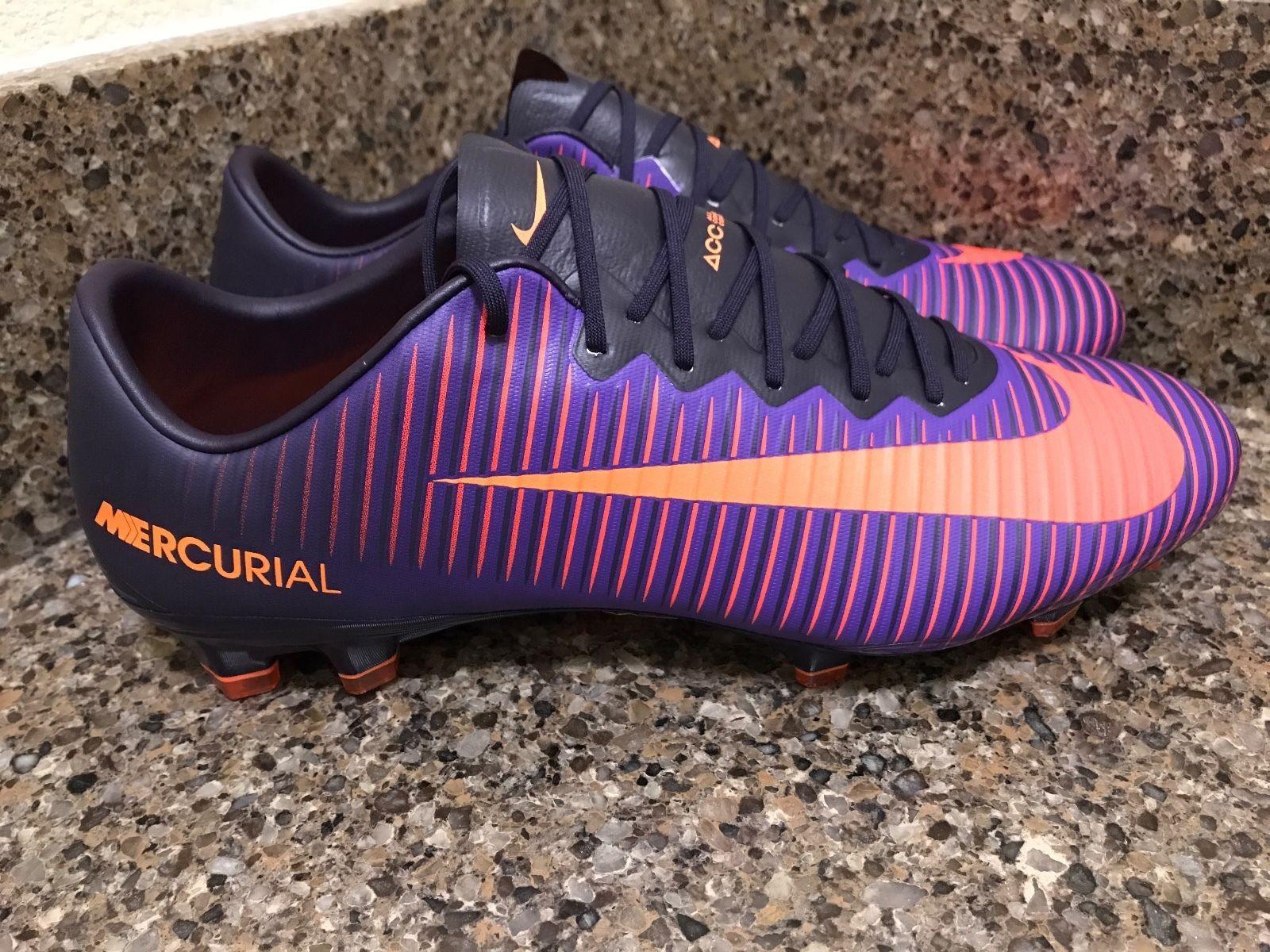 Nike Mercurial Vapor Xi Fg Acc Purple Dynasty 831958 585 Men Sz 10 11 12 13 In 2020