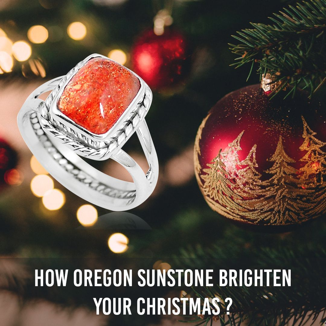 Oregon sunstone, the gemstone which shows a beautiful amalgamation of golden, yellow, brown and red hues, is known to be full of a lot of positivity. The strong and useful abilities of this gemstone can help you brighten your Christmas time in a wonderful manner. #oregonsuntone #oregonsunstones #oregonsunstonejewelry #oregonsunstonering #oregonsunstoneguide #oregonsunstonenecklace #gemstonejewelry #silverjewelry #gemexi #christmasgift #christmasdeals #christmassurprise  #christmasdeals2019