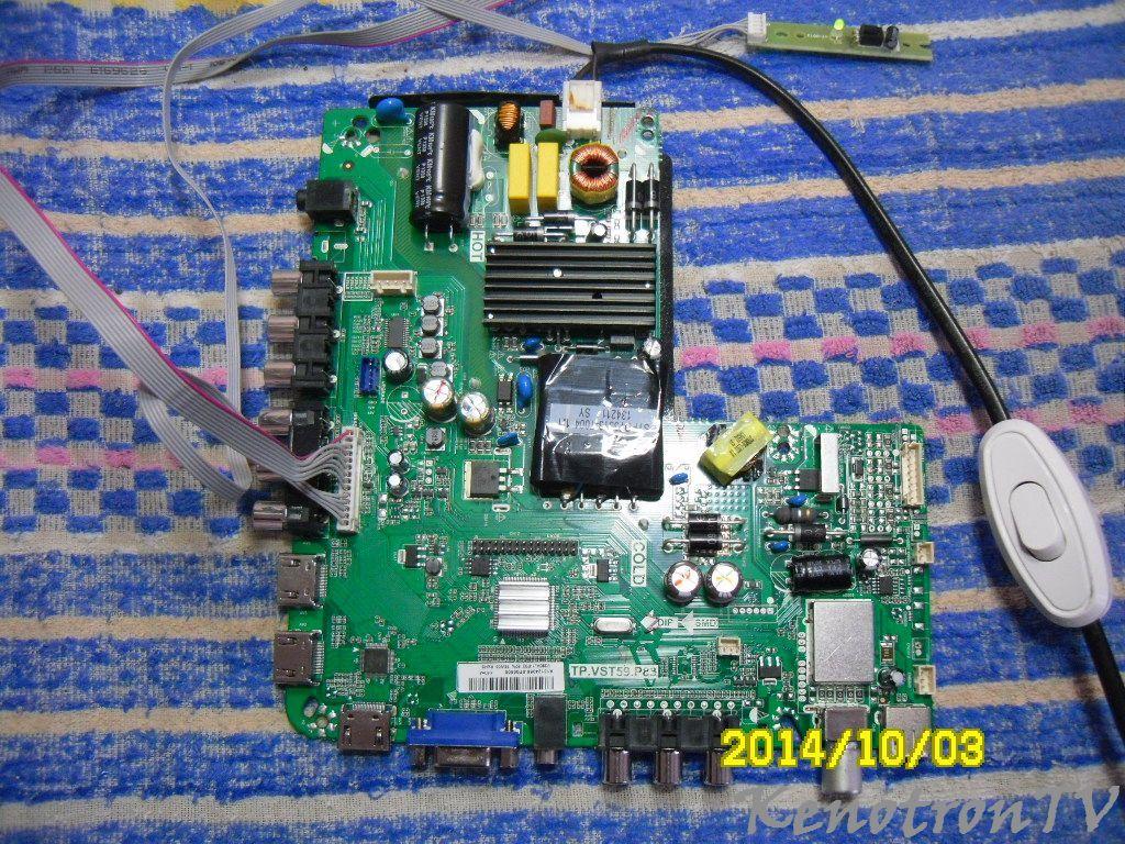 PP - MAIN BOARD TP.VST59.P83 - TP.VST59.P83 - Галерея - KenotronTV ...