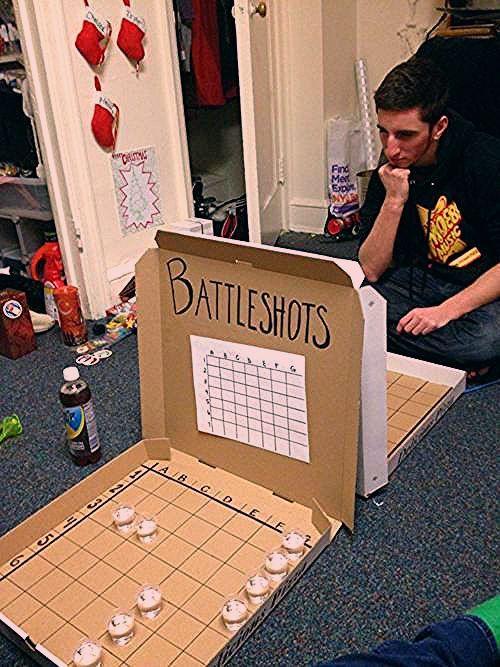 Photo of geniales Trinkspiel. Vielleicht haben einige mit Alkohol, und einige ohne.