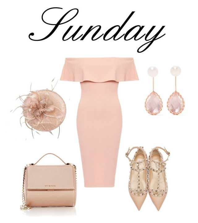 """""""Sunday Best"""" by mel-c-n ❤ liked on Polyvore featuring Valentino, Givenchy, Larkspur & Hawk and valentino"""