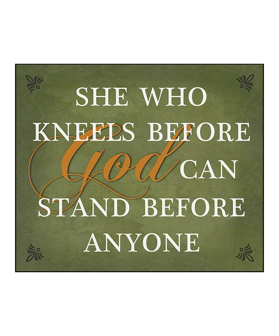 Love this 'She Who Kneels Before God' Wall Art by African American Expressions on #zulily! #zulilyfinds