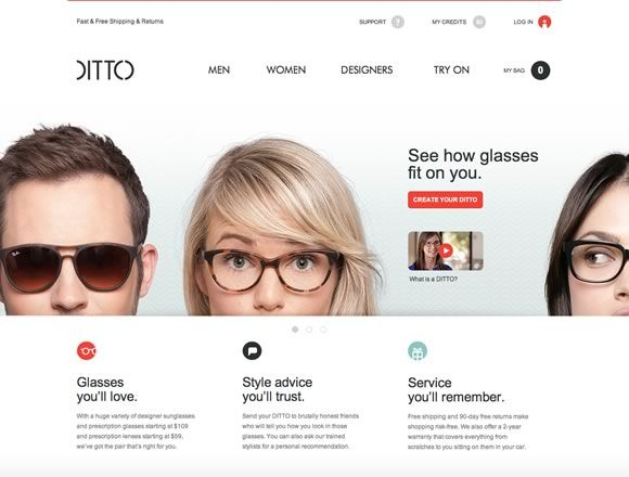21 Beautifully Designed E-commerce Sites | Inspiration