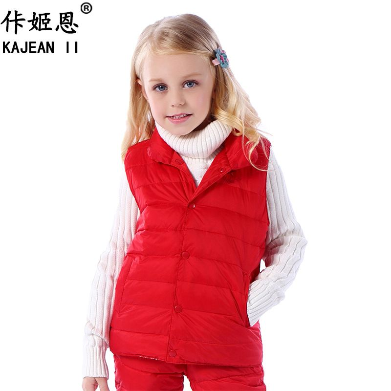 1caf120a2 Click to Buy    Baby vest child down coat liner vest small tong ...