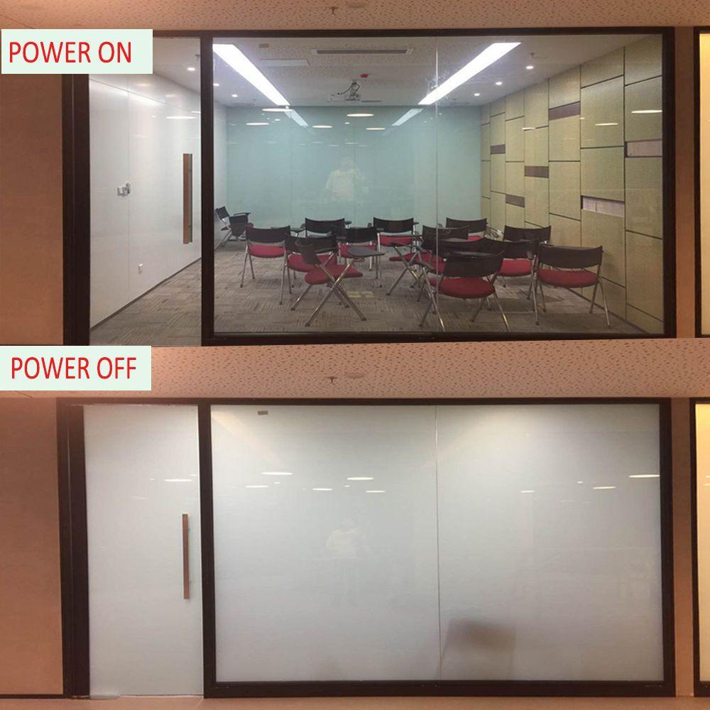Pdlc Electrochromic Film Smart Film Starter Kit Switchable 150mmx150mm Smart Glass Tinted Windows Windows And Doors