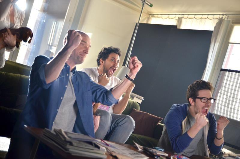 Paul, Choukri & Oscar