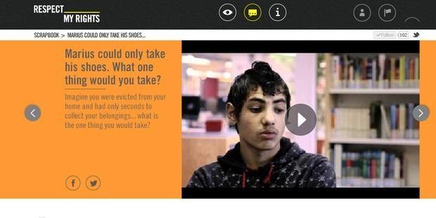 Un nuevo sitio web destinado a los jóvenes mejorará la comprensión de los derechos humanos y la pobreza | Amnesty International