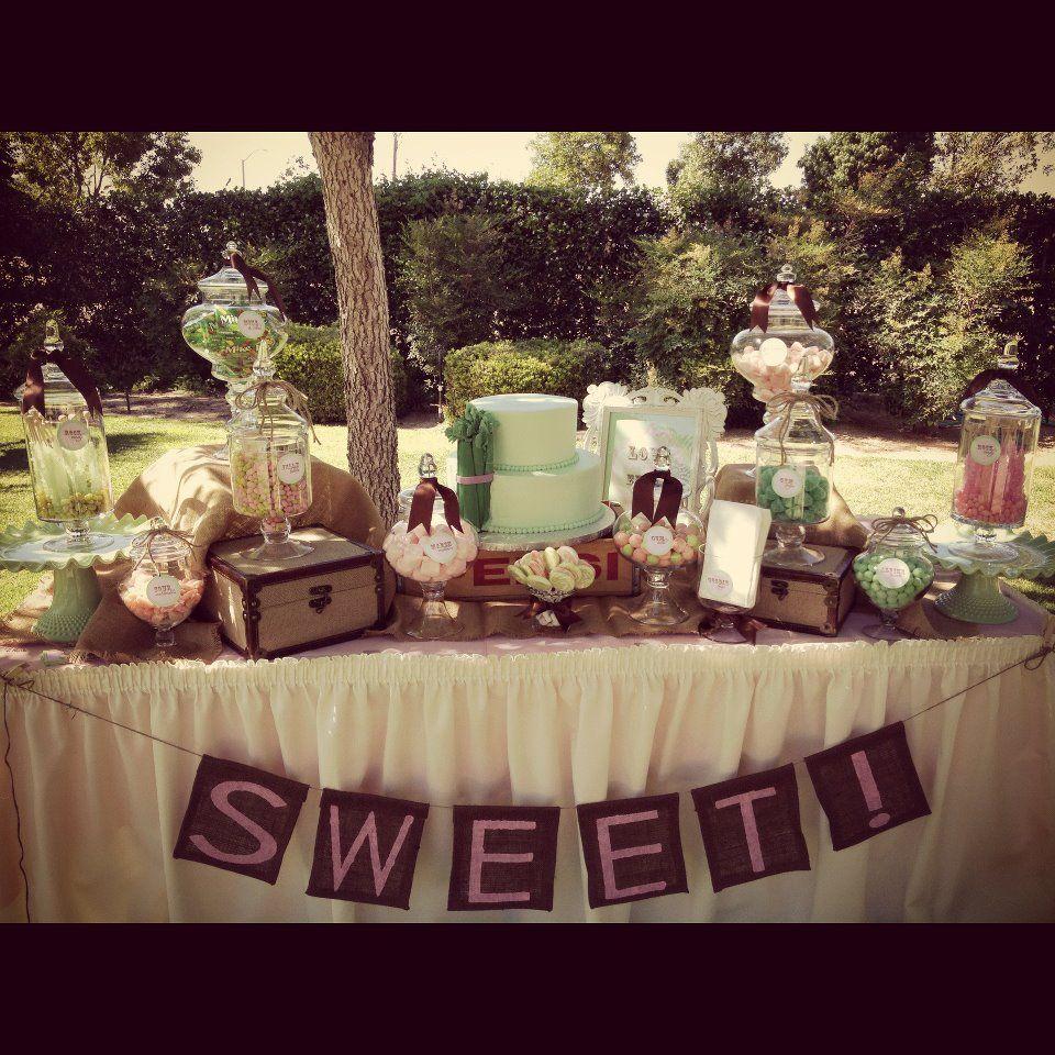 Rustic Wedding Candy Table Ideas: Best 25+ Dessert Buffet Ideas On Pinterest