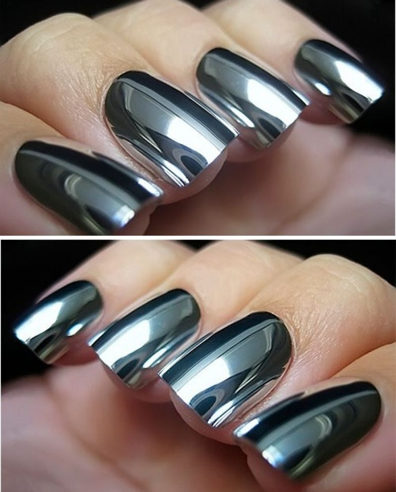 12 Mirror Manicure – A New Trend of the Spring Season   !! Nails Art ...