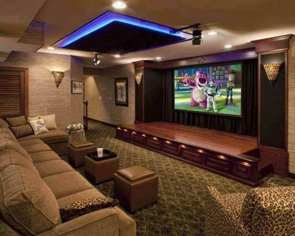 this is a pretty awesome setup for a home karaoke room dream