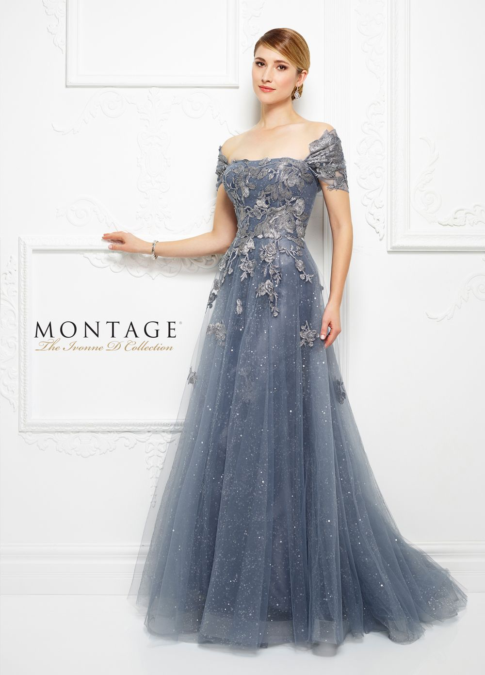 b20b661717 Buy Ivonne D Exclusively for Mon Cheri 217D88 Dress today at  MadameBridal.com authorized retailer store. With every order get your free.