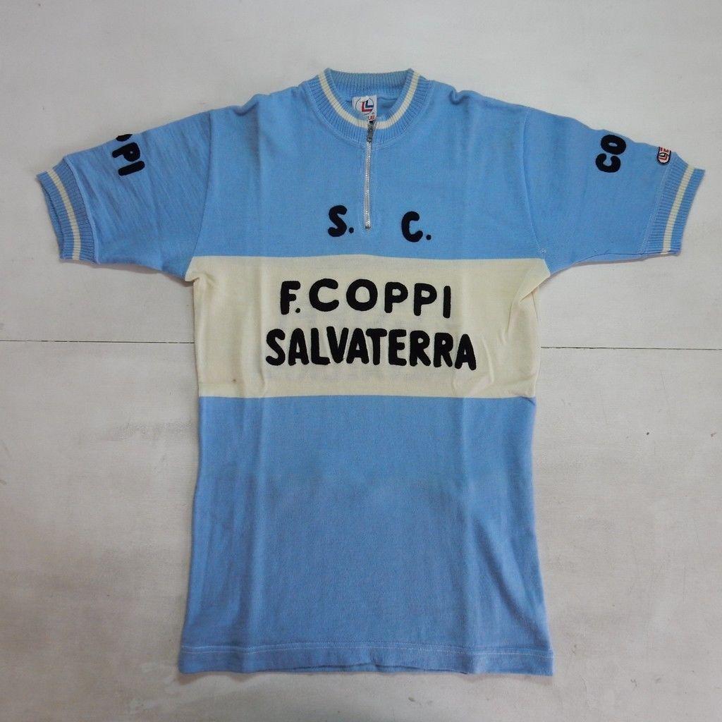 nuovo concetto 1c0b0 ffb02 MAGLIA SHIRT TRIKOT CYCLING CICLISMO COPPI SALVATERRA EROICA ...