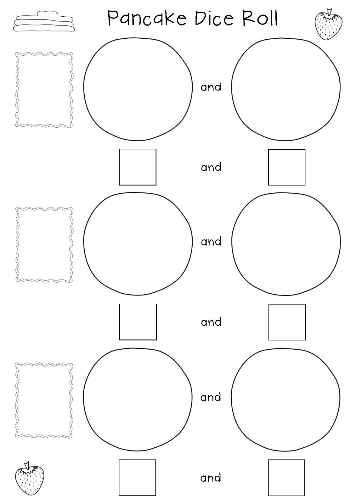 worksheet Decomposing Numbers Kindergarten Worksheets decomposing number freebie pancake day math pinterest day