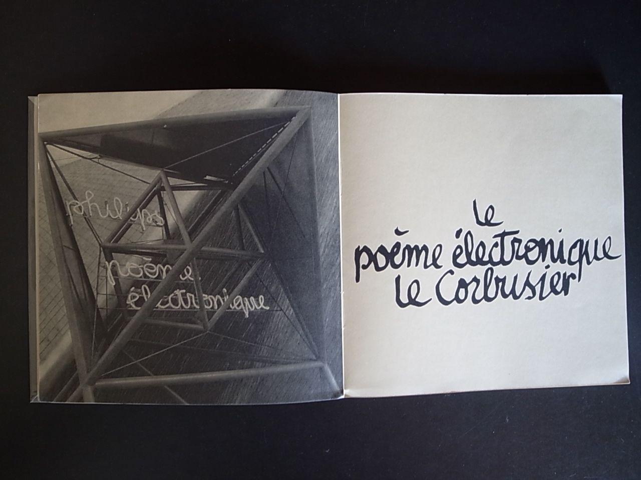 Le Poeme Electronique Le Corbusier Books