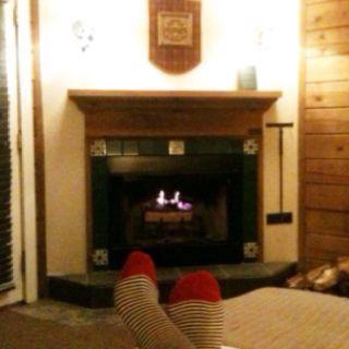 Cozy room at Brasstown Valley Resort & Spa.