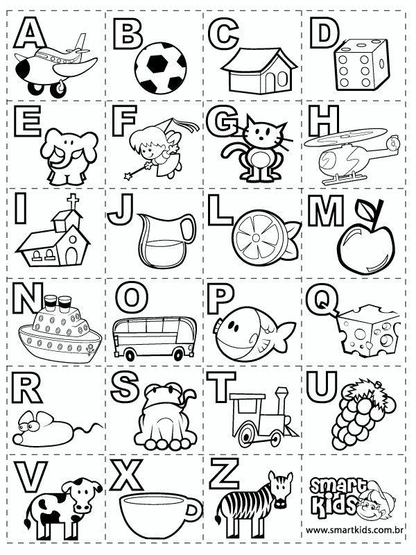 Alfabeto Ilustrado Imagenes Del Abecedario Abecedario Para