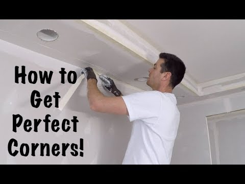 How To Tape Drywall Inside Corners Youtube Drywall Repair Drywall Corners Drywall Tape