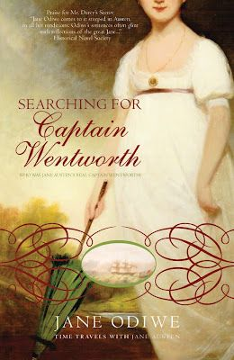 Searching for Captain Wentworth by Jane Odiwe. Time travel romance coming out Sept 7th. Read my review at this link.