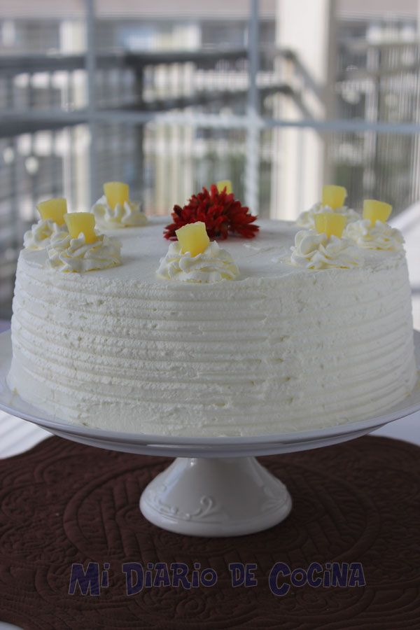Torta de piña