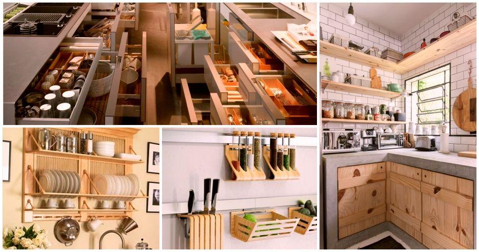 Como Tener Una Cocina Organizada Cocina Organizada Cocinas Casas