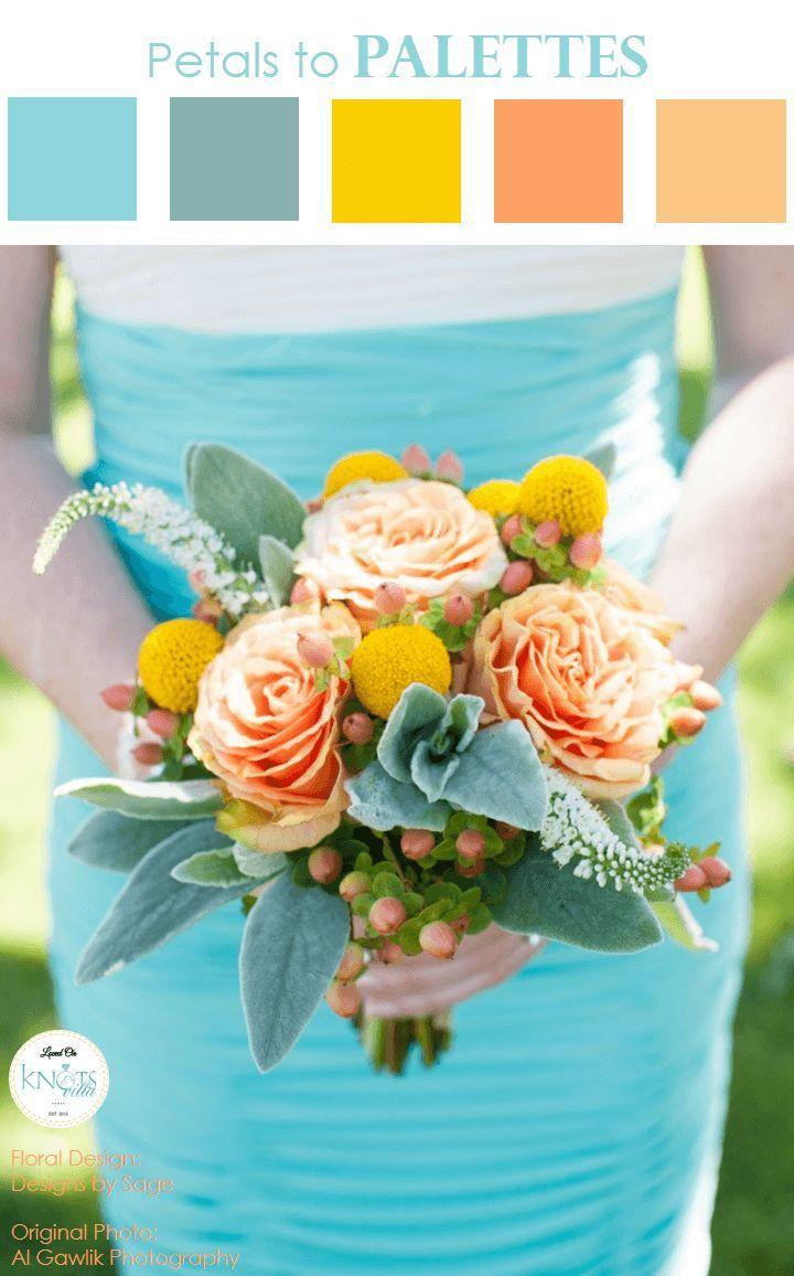Colorful Summer Wedding Bouquet Summer Wedding Bouquets Summer