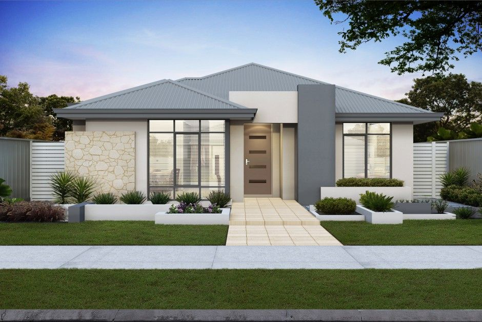 The Equinox - Spacious, light filled new home design with rear ...