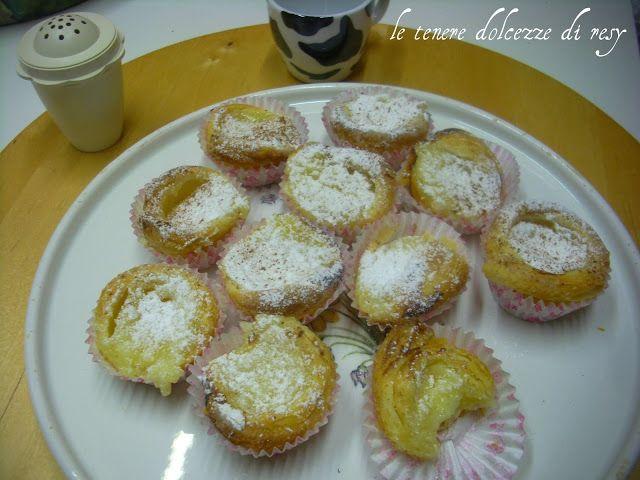 le tenere dolcezze di resy: Pastèis de nata ( paste alla crema) dal Portogallo...
