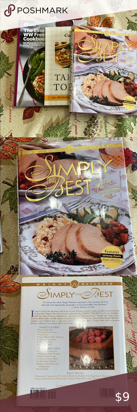 3 Weight Watchers Cookbooks