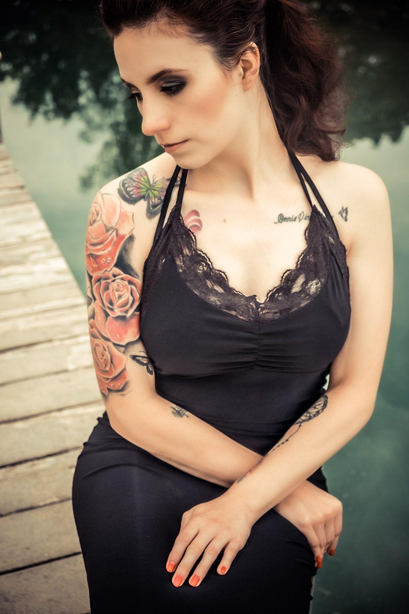 Little black dress photo rsworks photography muha anastasiaus