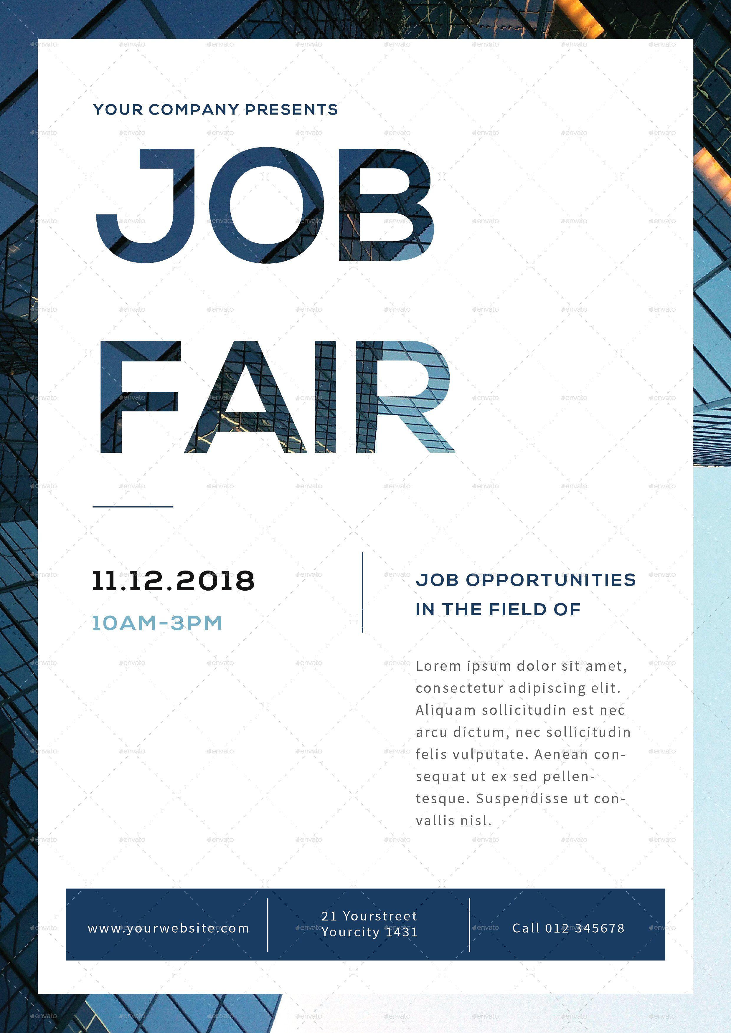 Job Fair Flyer Template Job Fair Flyer By Infinite Flyer Template Job Fair Event Flyer Templates Job fair flyer template free