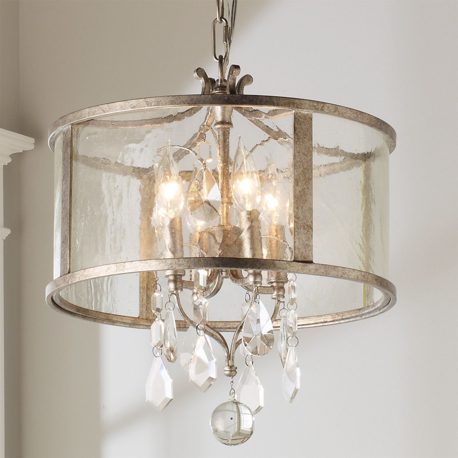 Vintage Modern Crystal Mini Chandelier With Images Small