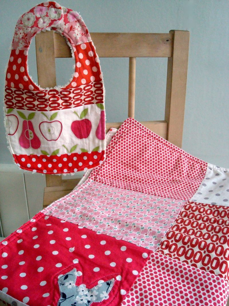 bib and quilt by treefall design
